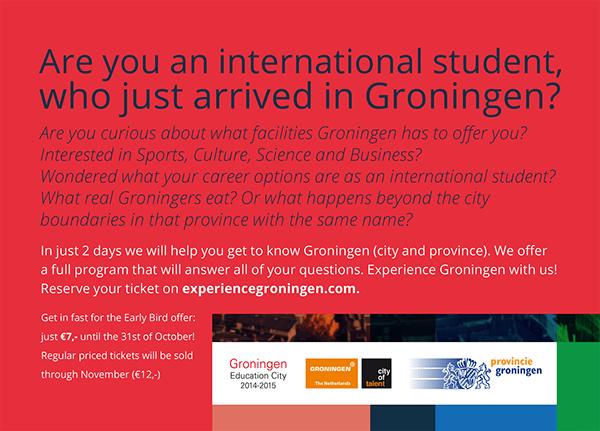 Flyer Achterkant Experience Groningen