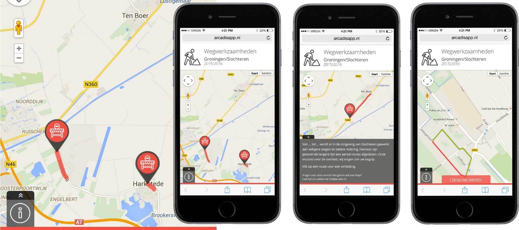 Slochterdiep.nl app ontwikkeling