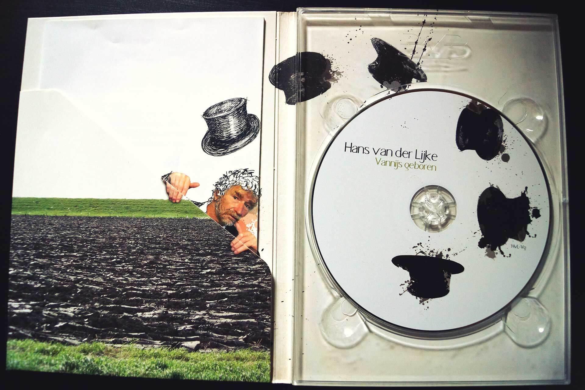 Binnenkant CD hoes foto