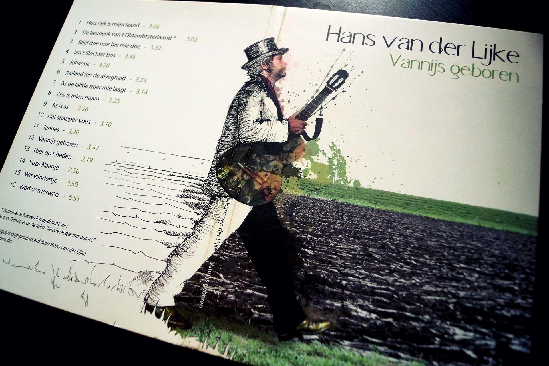 Vannijs geboren - Album Cover