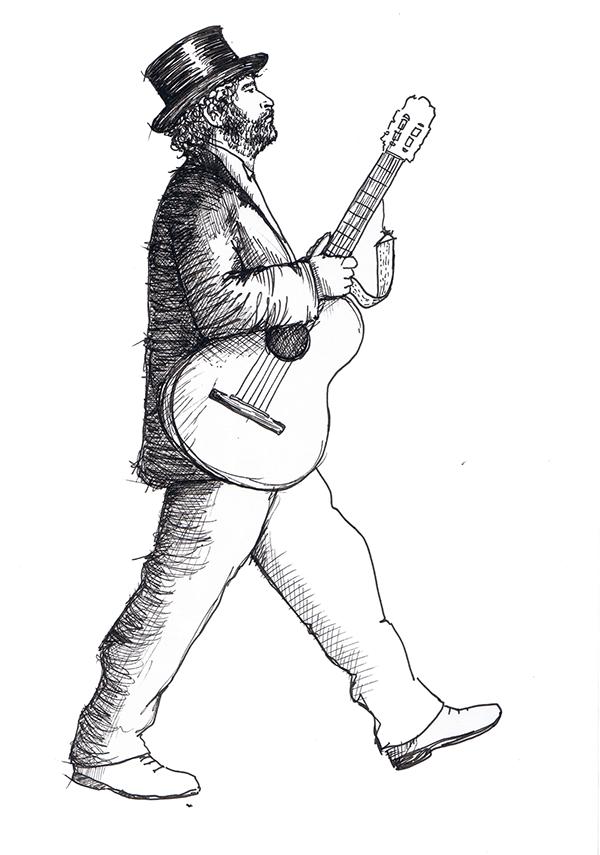 Hans van der Lijke tekening