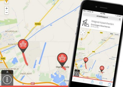 Slochterdiep.nl – Interactieve responsive map