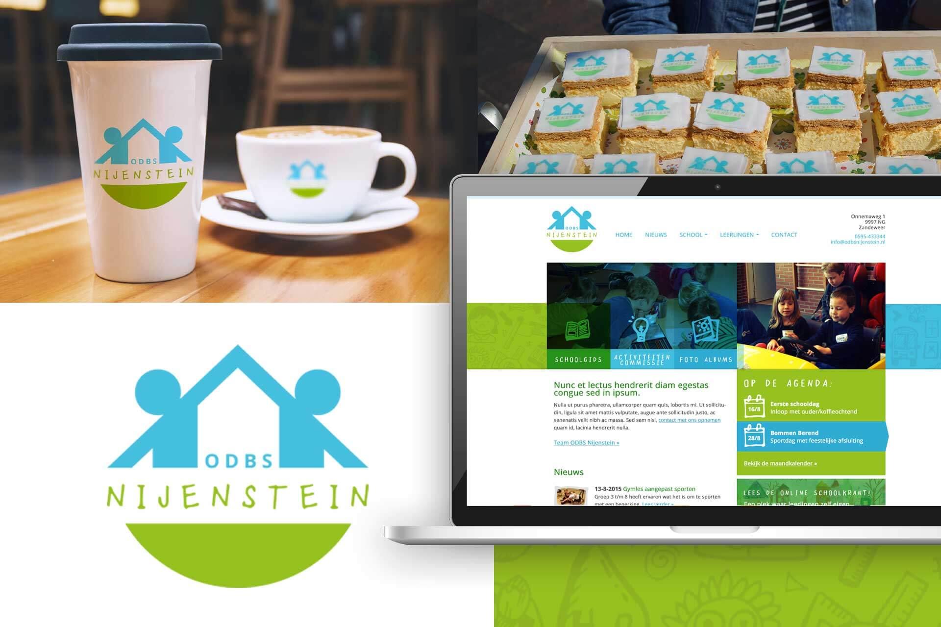 ODBS Nijenstein logo en huisstijl