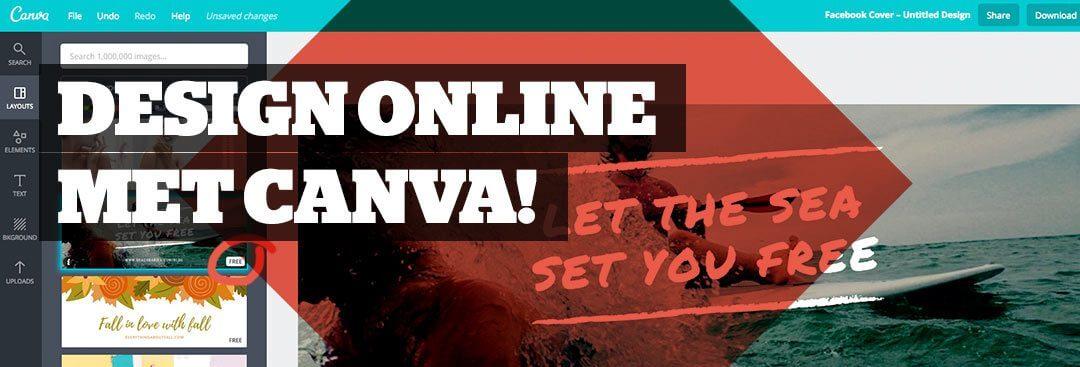 Maak gratis een mooie banner met Canva