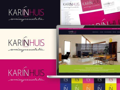 KarinHuis – Nieuw Logo, Huisstijl en WordPress Website
