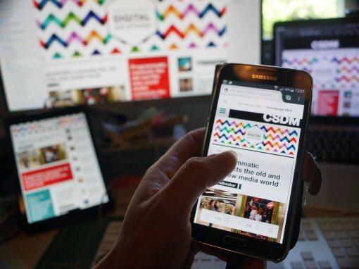CSDM Online Magazine – Webdevelopment en Mobile design