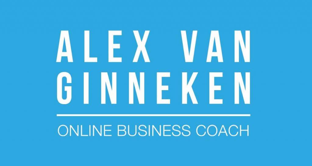 Alex van Ginneken logo met payoff