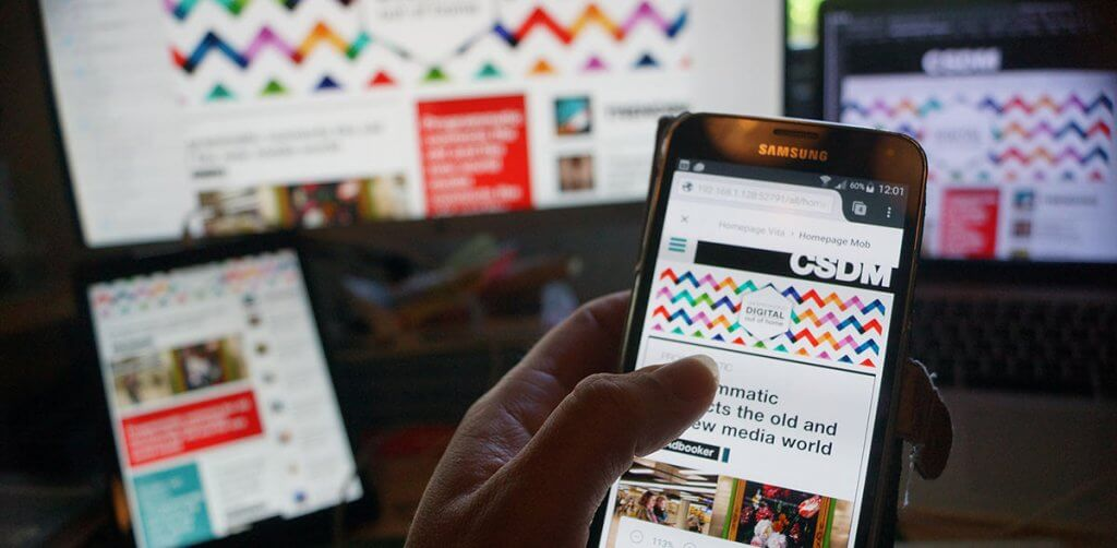 Mobile design CSDM Online magazine