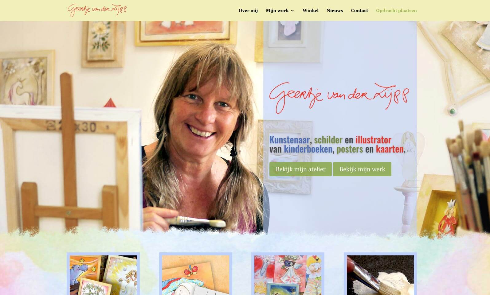 Ruiter Fotografie huisstijl kleuren aanvullend op het logo