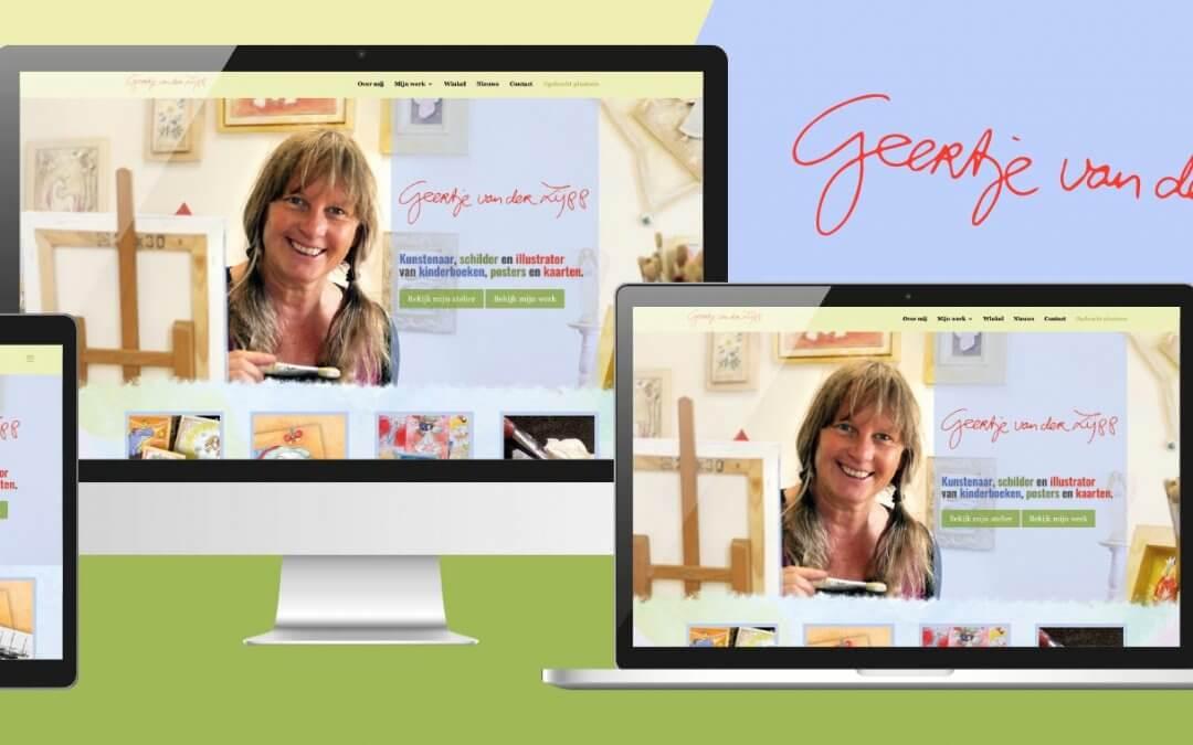 Geertje van der Zijpp – Nieuwe responsive website