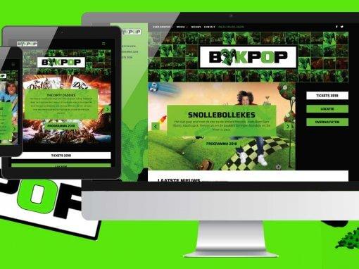 Bokpop Nieuwe WordPress Website