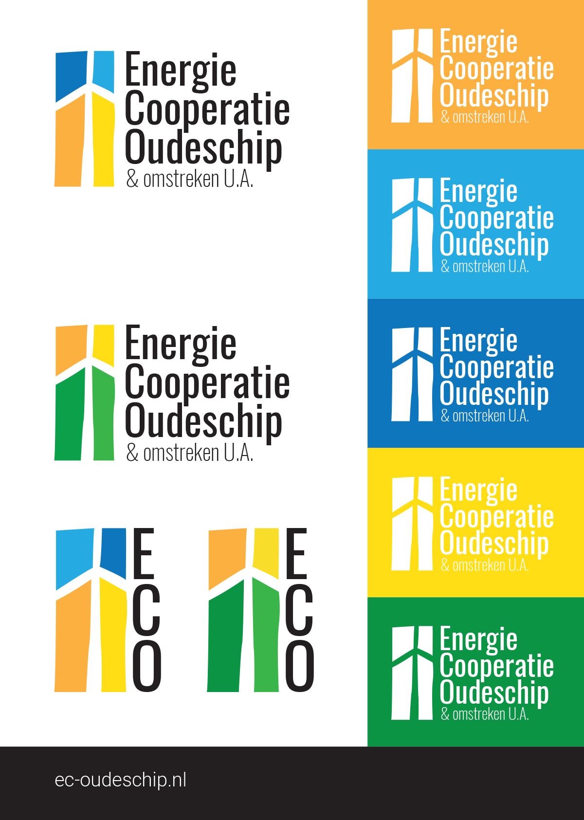 Kleurvoorbeelden logo Nijenstein