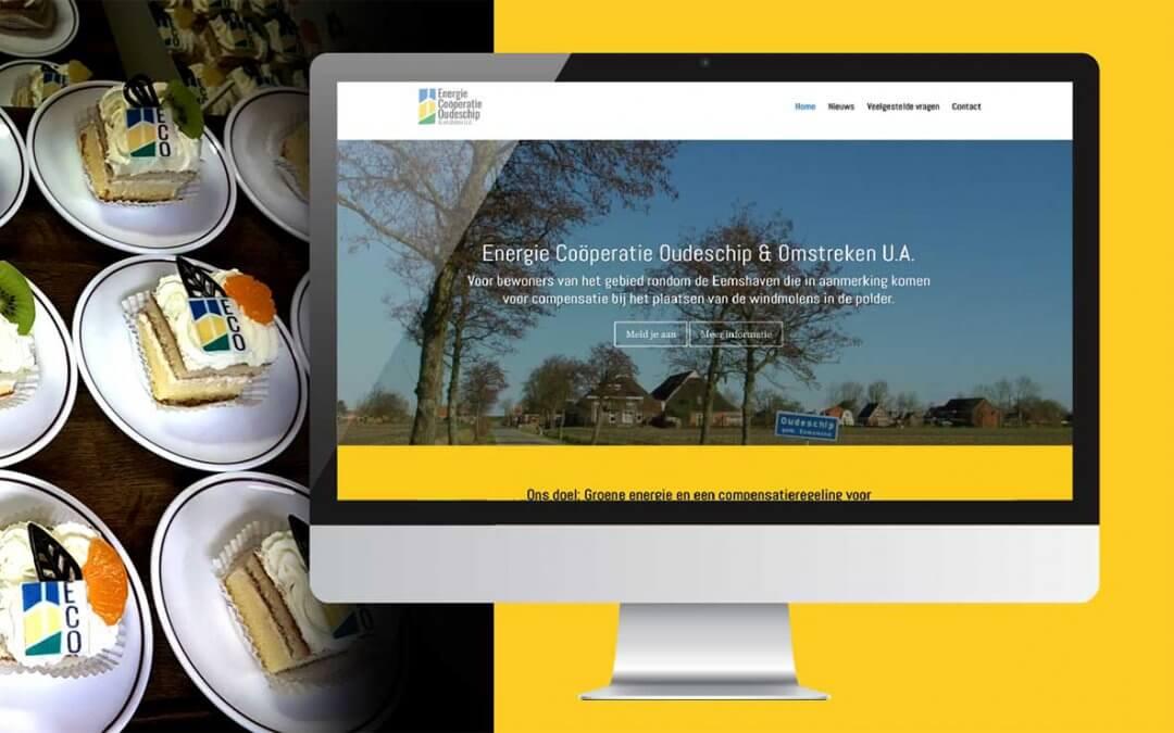 Logo & Website EC-oudeschip.nl