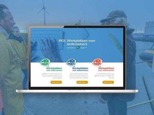 MOI Werkplekken – Website Collectief