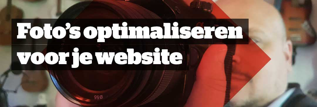 Fotomateriaal geschikt maken voor gebruik op je website