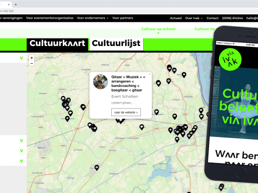 IVAK Custom WordPress Plugin Leaflet Cultuurkaart