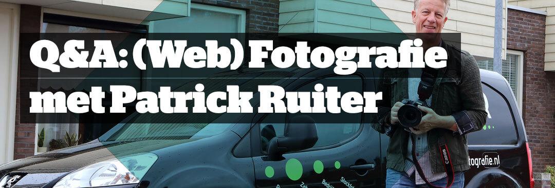 Q&A: Web & Zakelijke fotografie, waar let je op?