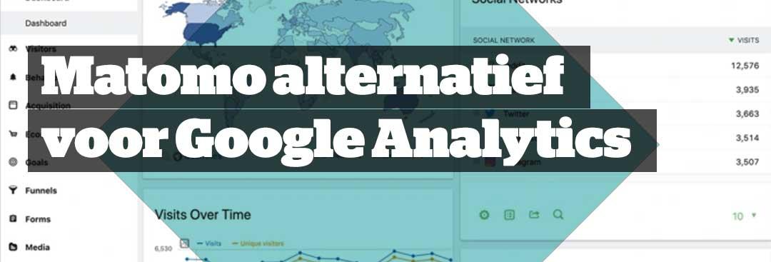 Matomo als privacy veilig alternatief voor Google Analytics