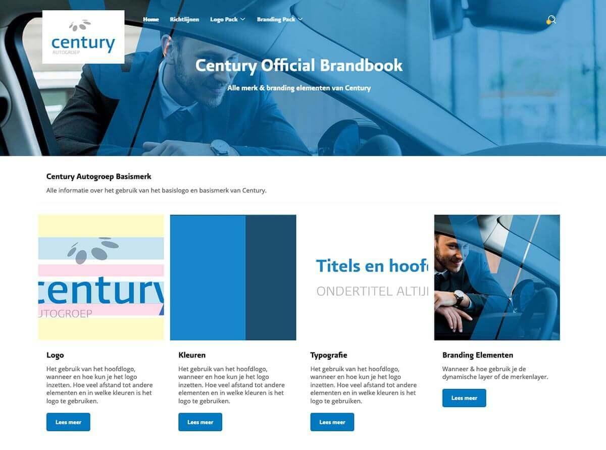 Official Online Brandbook Century