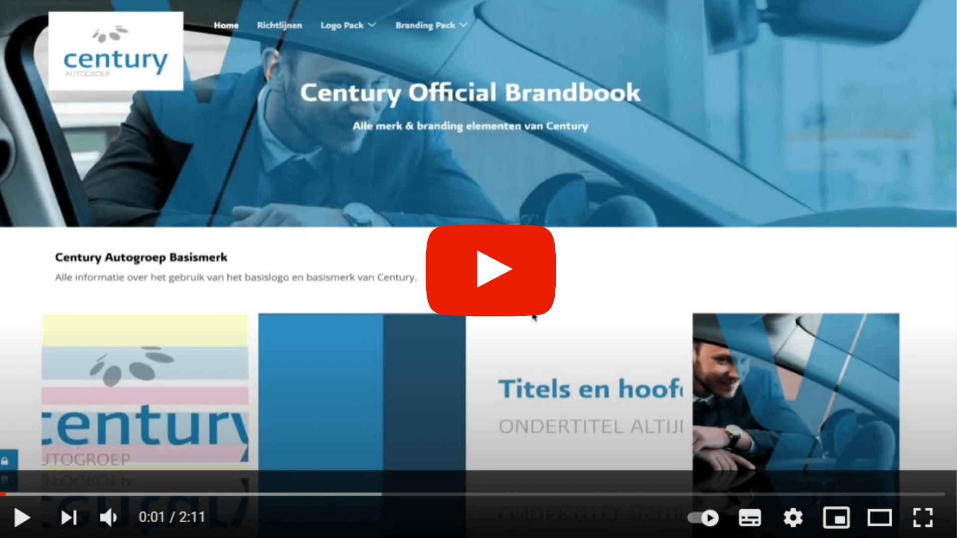 century official brandbook