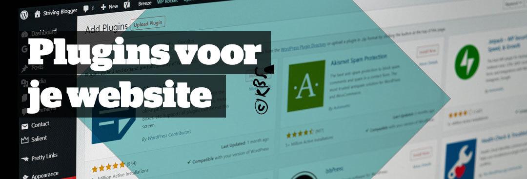 Plugins voor WordPress, een zegen of een vloek?