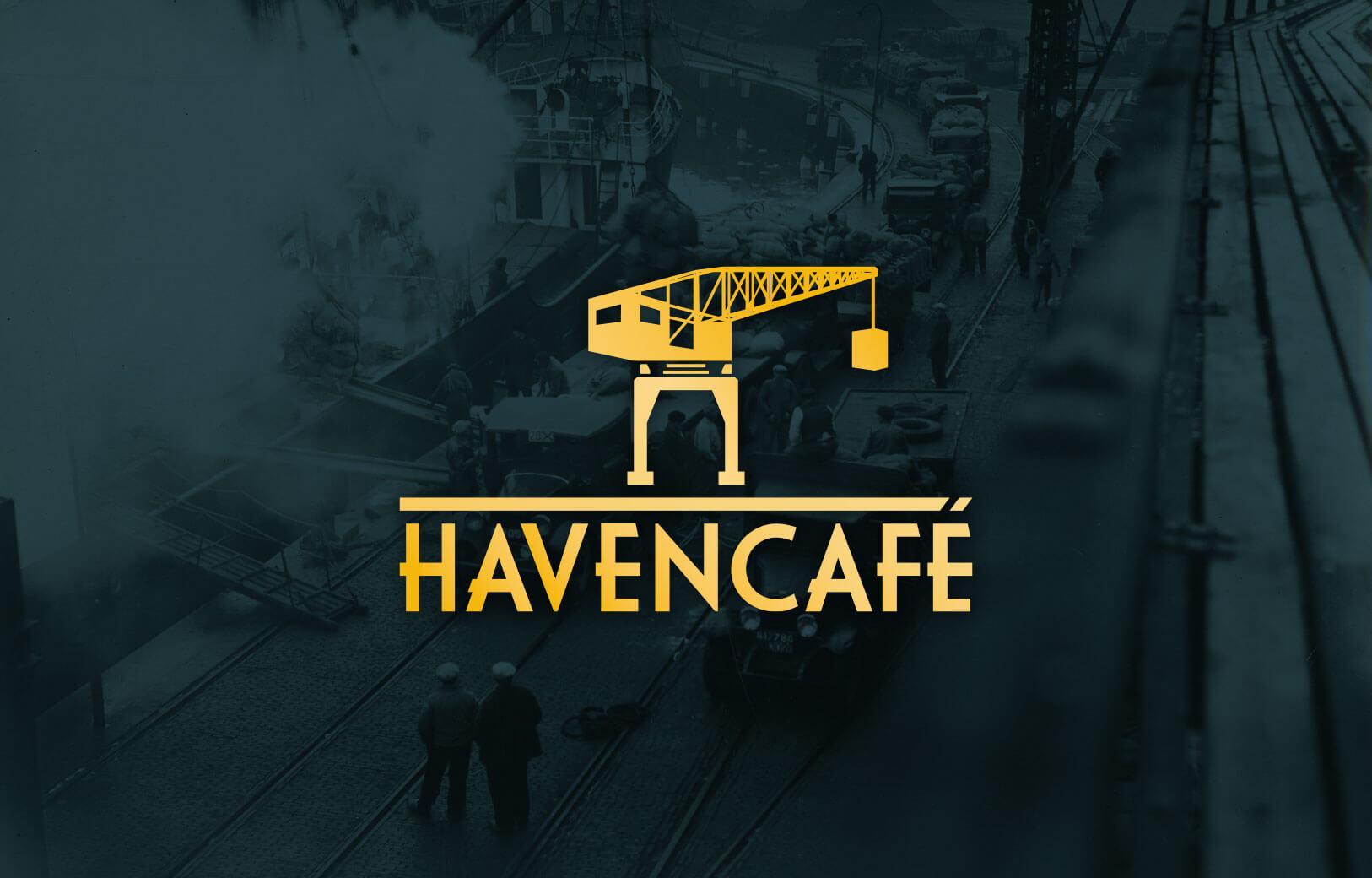 Havencafé Logo ontwerp